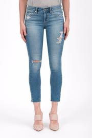 Articles of Society Cropped Blue Jeans - Product Mini Image