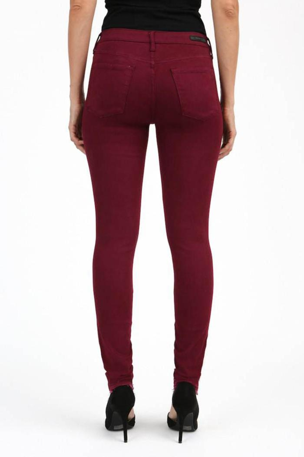 Articles of Society Released Hem Skinny - Side Cropped Image