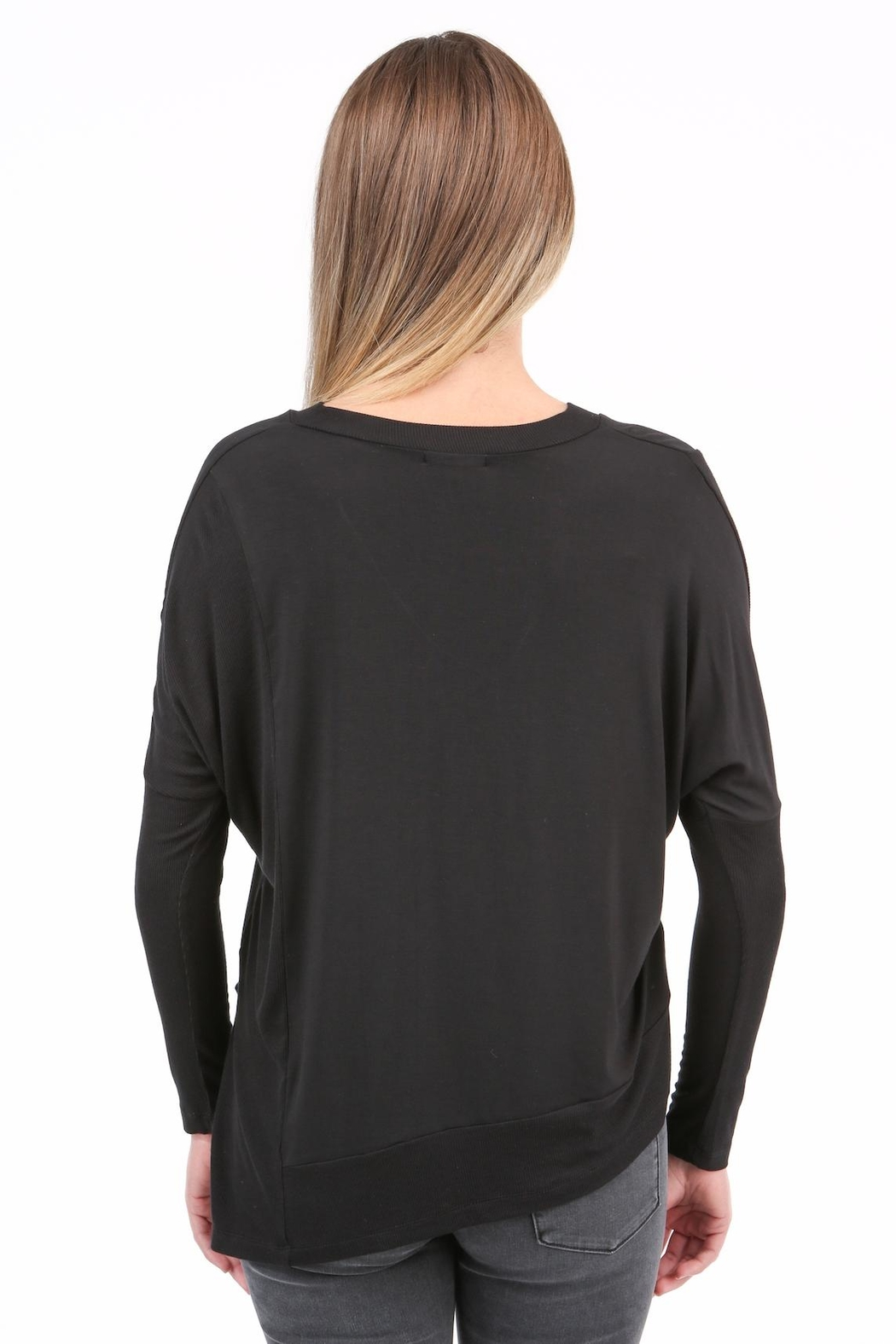 Articles of Society Ribbed Detail Top - Front Full Image