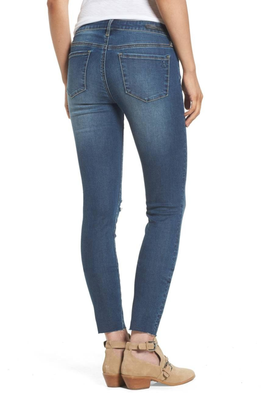 Articles of Society Sarah Raw Hem Jeans - Front Full Image