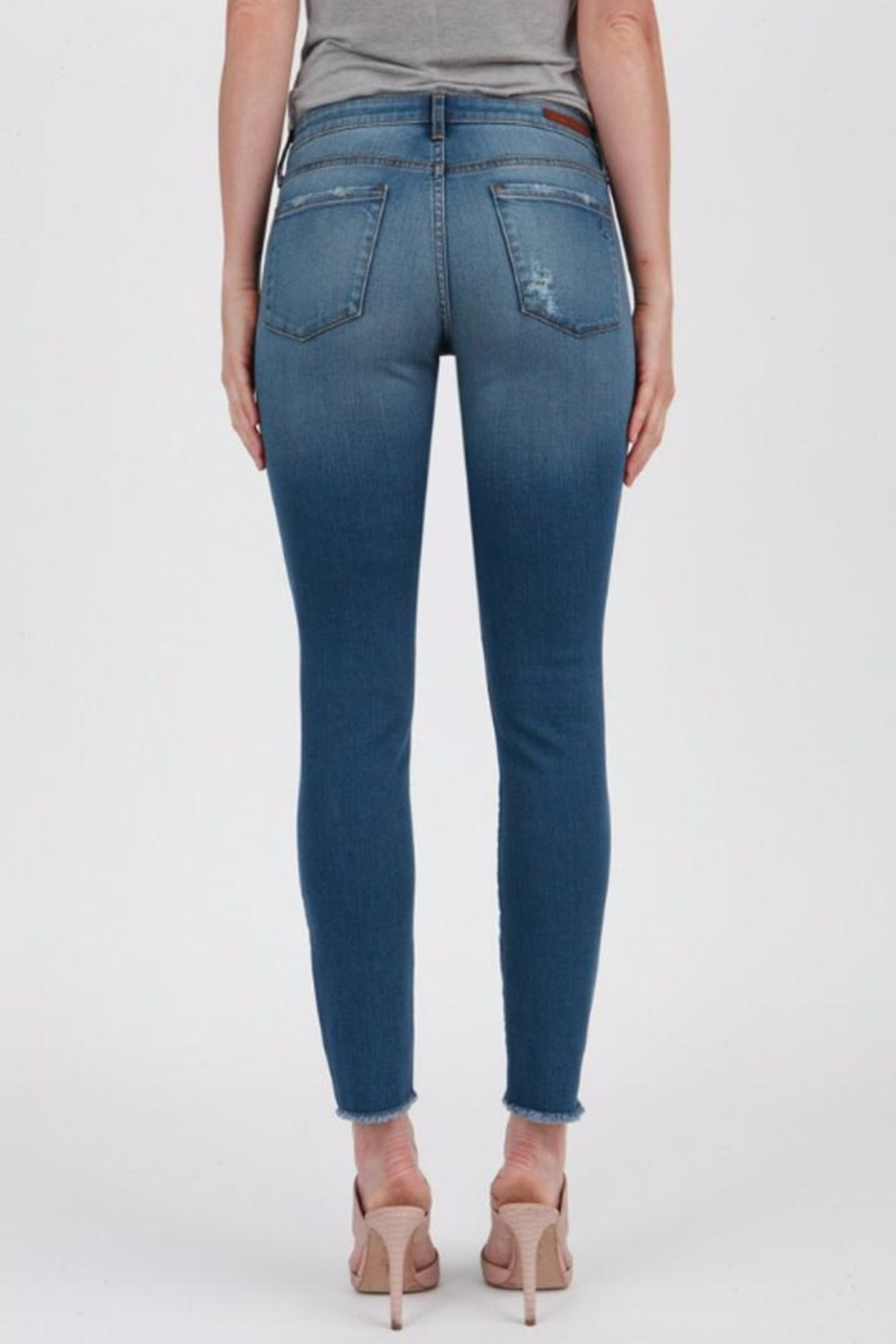 Articles of Society Sarah Skinny Jeans - Side Cropped Image