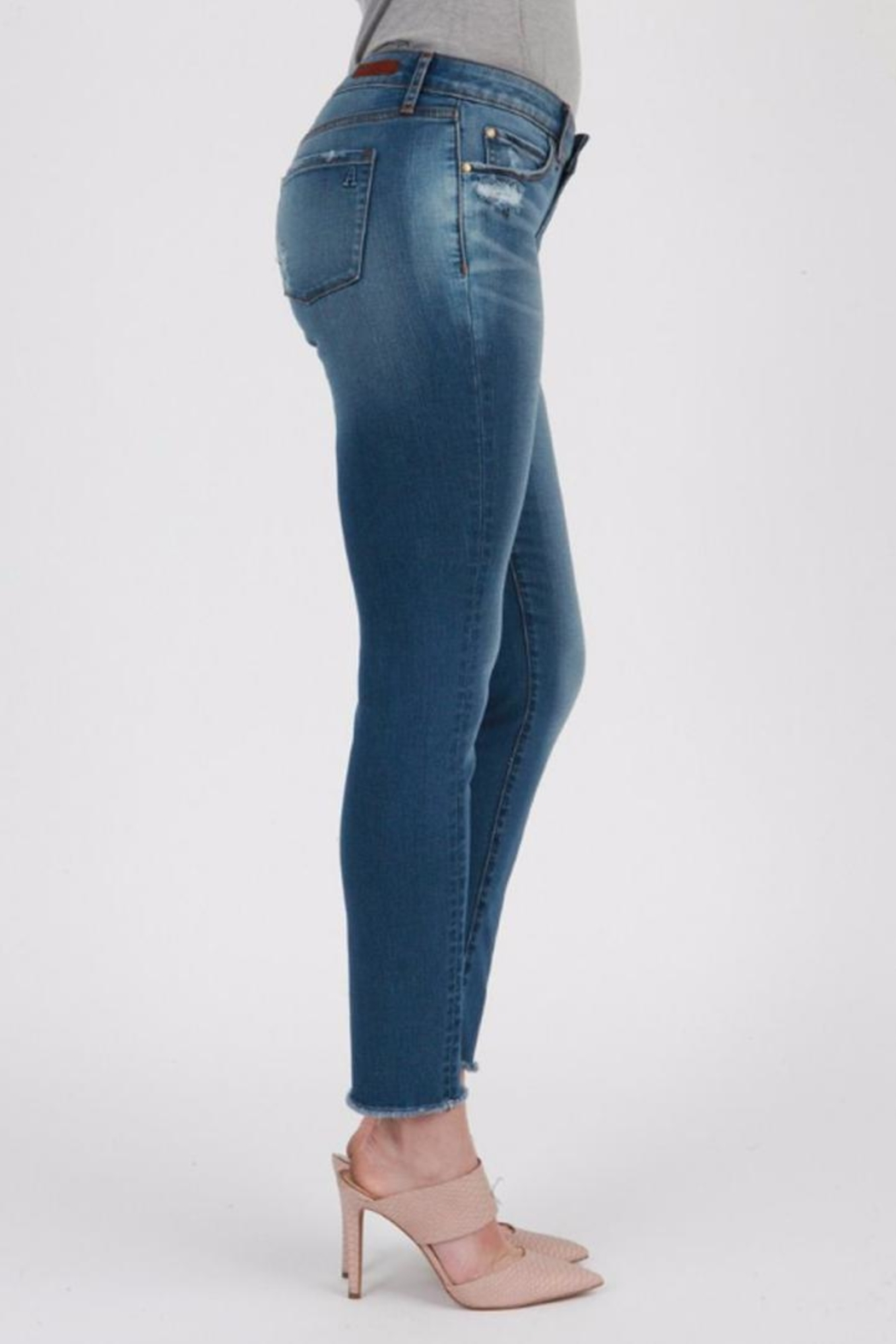 Articles of Society Sarah Skinny Jeans - Front Full Image