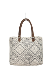Myra Bags Artisan Canvas Tote Bag - Front cropped