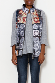 Dolcezza Artist Print Quilted Vest - Product Mini Image