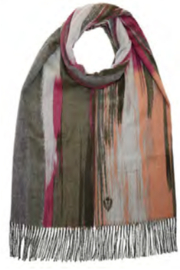 V. Fraas Artistic Strokes Scarf - Product Mini Image
