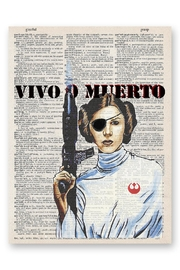 ArtNWordz Starwars Leah Print - Product Mini Image