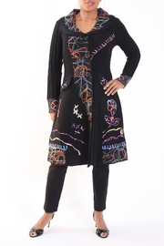 Talk of the Walk Arts-And-Crafts Sweater Coat - Front full body