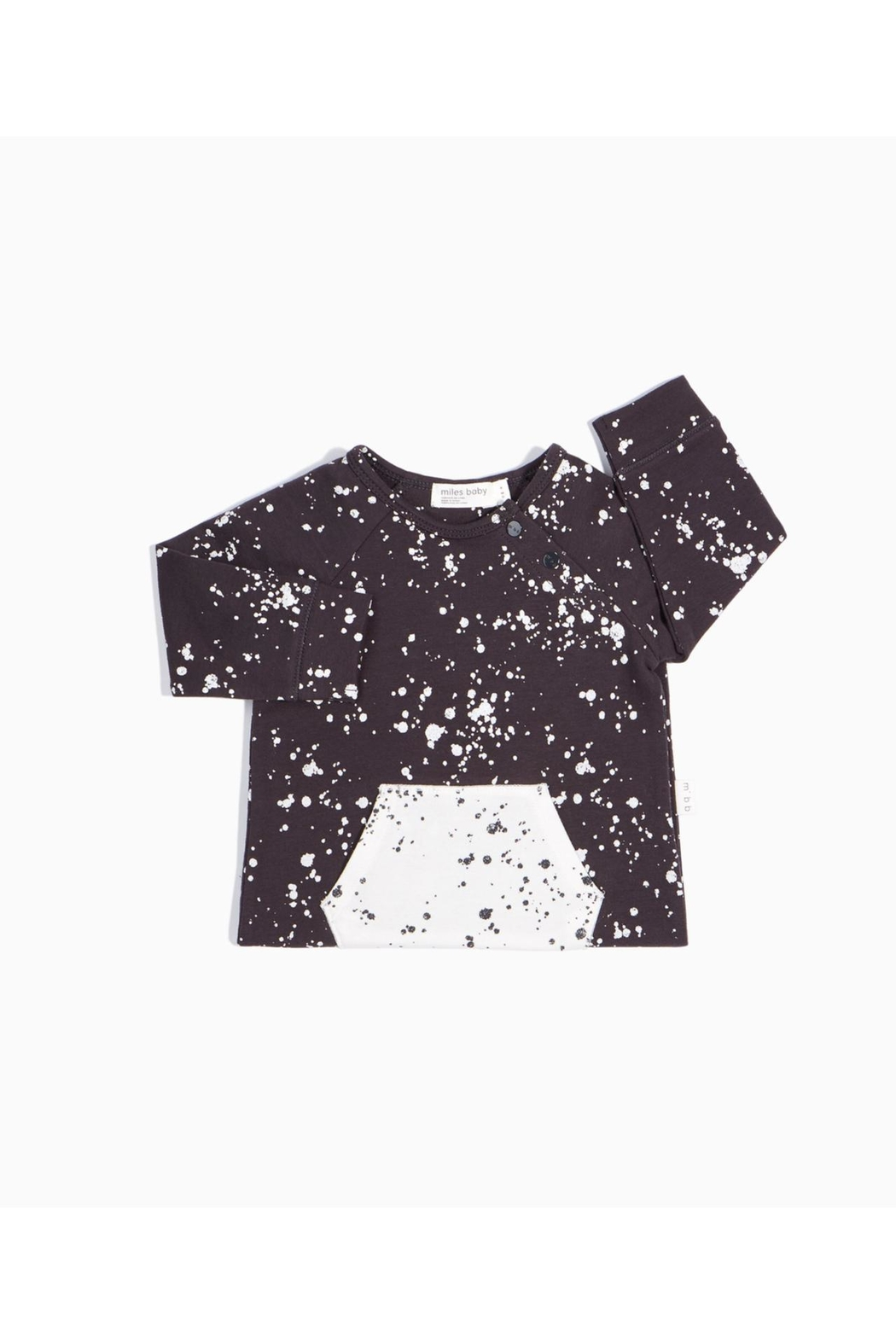 Miles Baby Artsy Fartsy Playsuit - Side Cropped Image