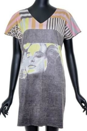 VOLT Design Artsy Print Dress - Product Mini Image