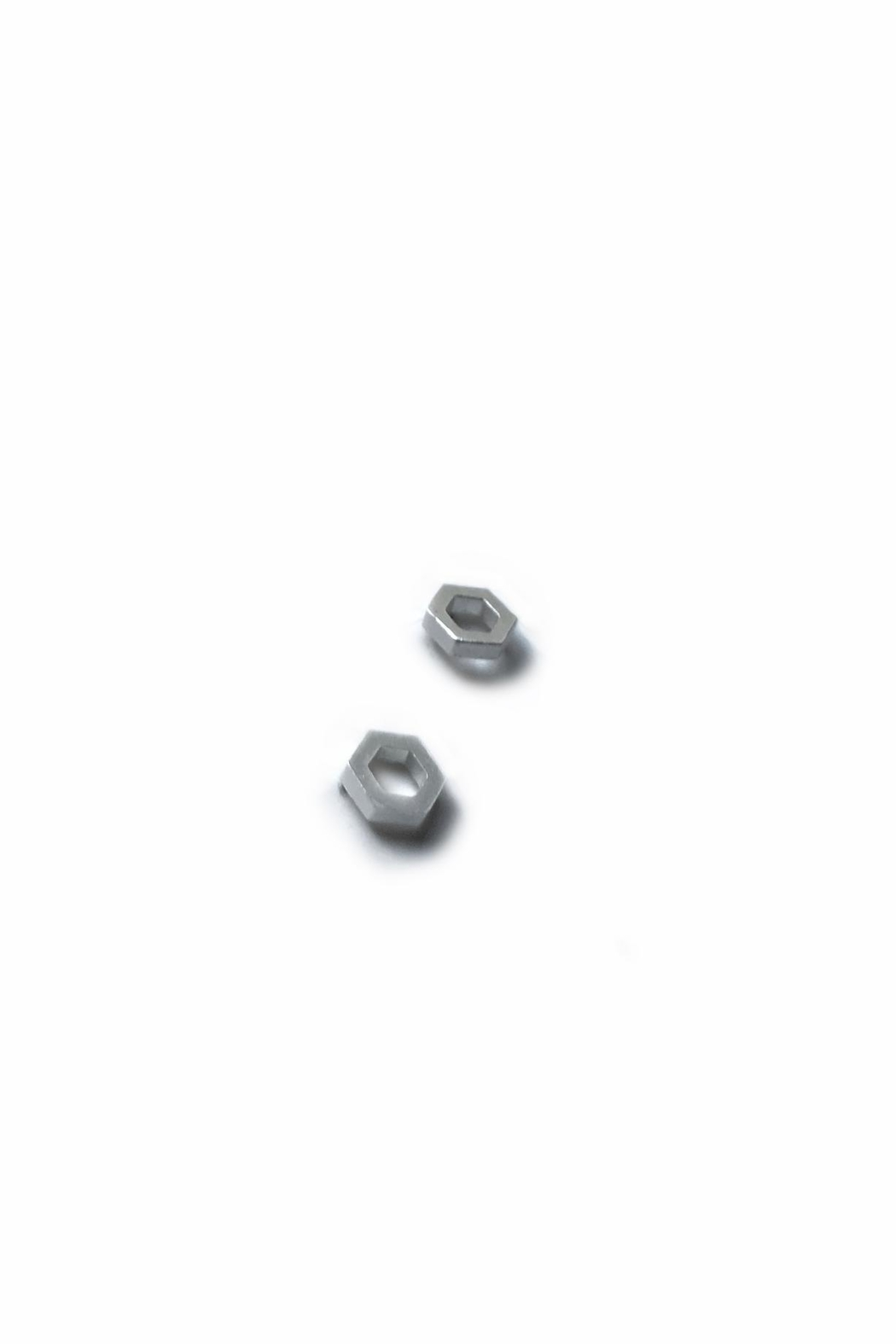 Artwear Designs  Hexagon Honeycomb Stud Earrings - Side Cropped Image