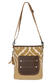 MarkWEST-Myra Bag Arty Canvas Shoulder Bag - Product Mini Image