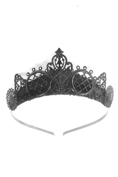 Loschy Arya Black Tiara - Alternate List Image