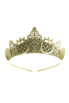 Loschy Arya Gold Tiara - Alternate List Image