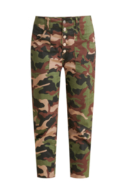 Veronica Beard Arya Straight Leg Camo Cargo Pant - Product Mini Image
