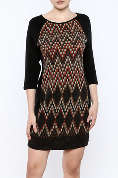 Shoptiques Product: 3/4 Sleeve Sweater Dress