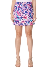 Aryeh Aqua And Pink Skort - Front full body