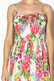Aryeh Beaded Rose Floral Dress - Other