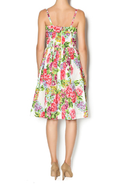 Aryeh Beaded Rose Floral Dress - Side cropped