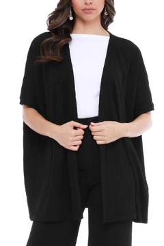 Aryeh Black Short Sleeve Sweater - Product List Image