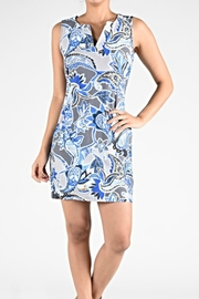 Aryeh Blue Bayou Dress - Product Mini Image