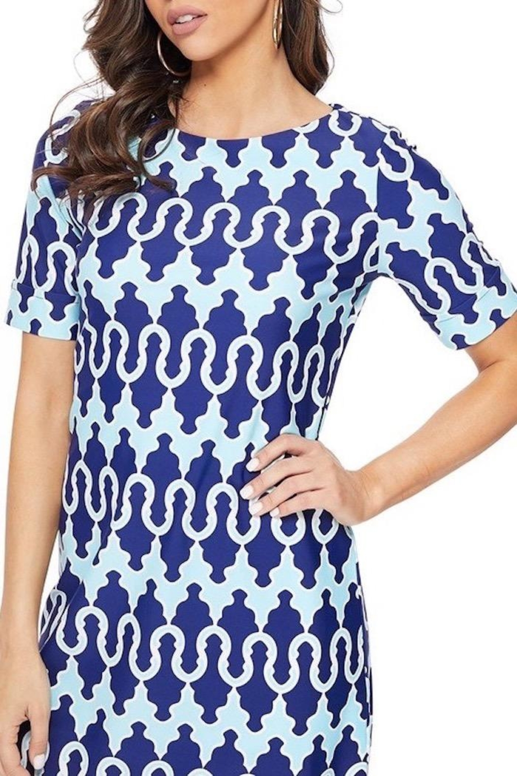 Aryeh Celeste Dress - Front Cropped Image