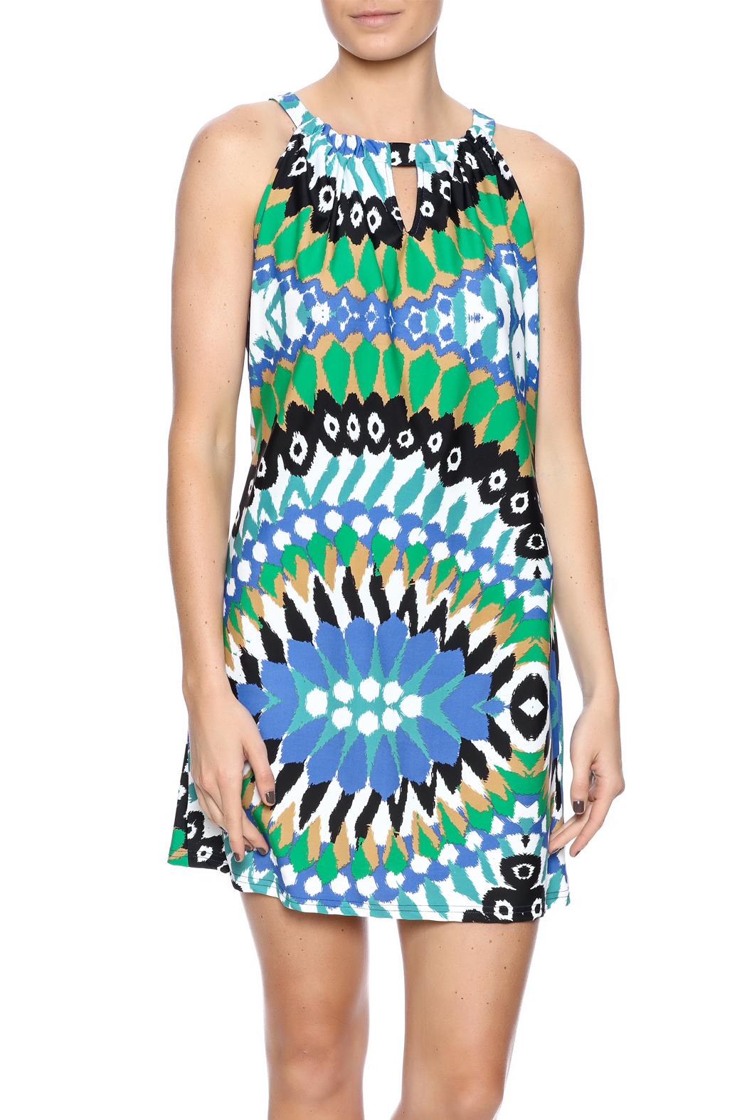 Aryeh Contemporary Print Dress - Main Image