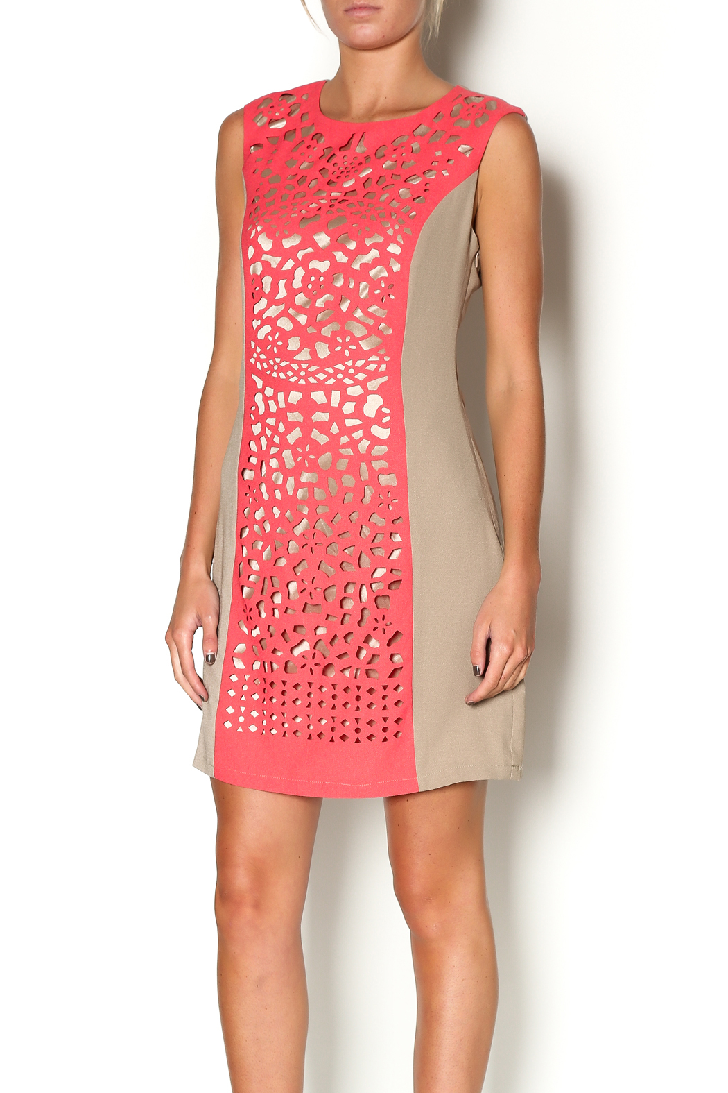 Aryeh Coral Gardens Dress - Main Image