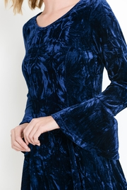 Aryeh Crushed Velvet Dress - Side cropped