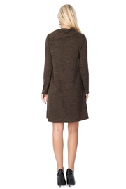 Aryeh Dark Olive Cowl Neck Knit Dress - Other