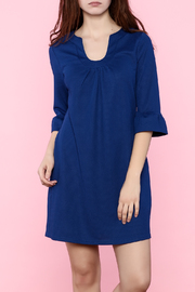 Aryeh Three-Quarter Sleeve Dress - Front cropped