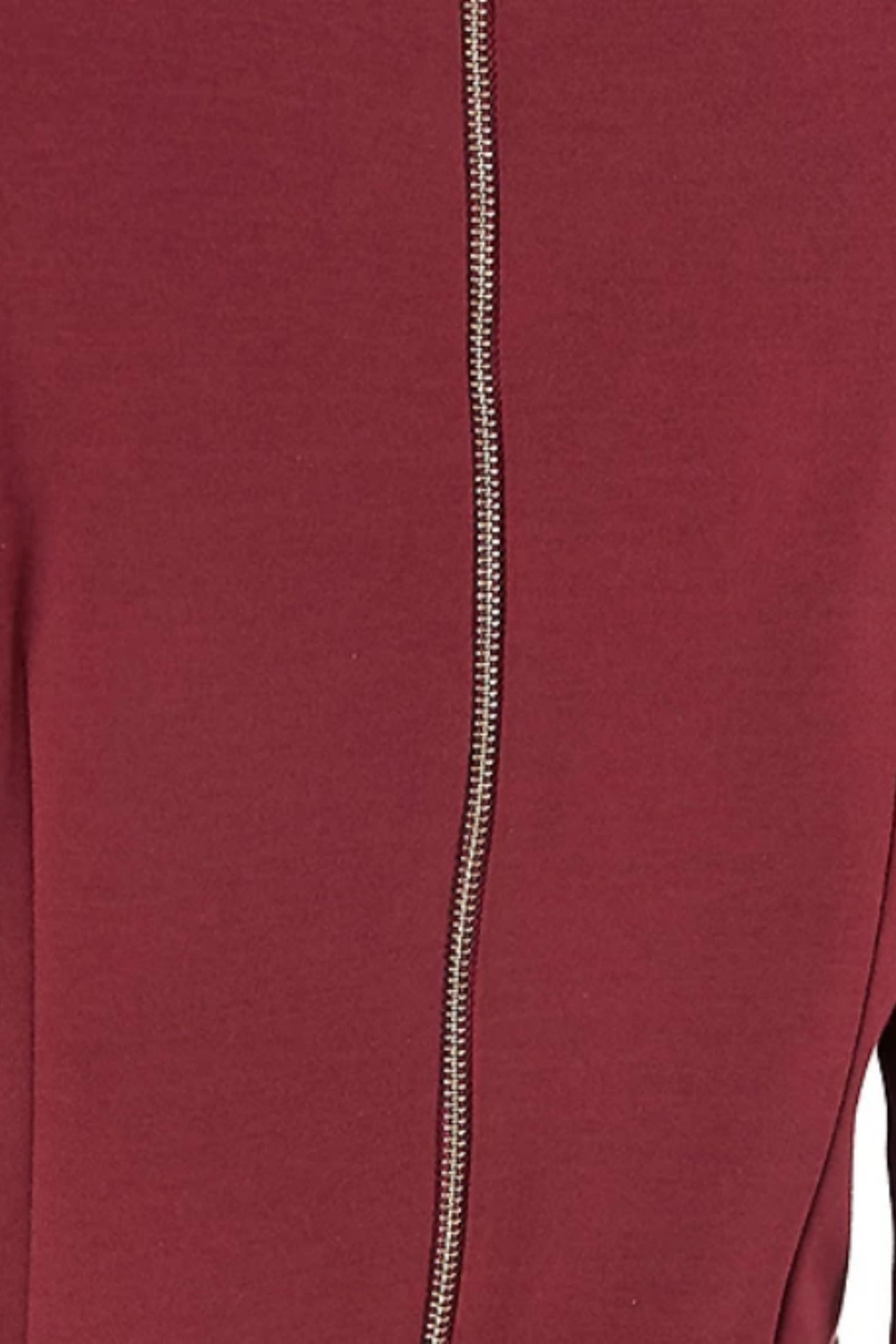 Aryeh Exposed Zipper Dress - Side Cropped Image