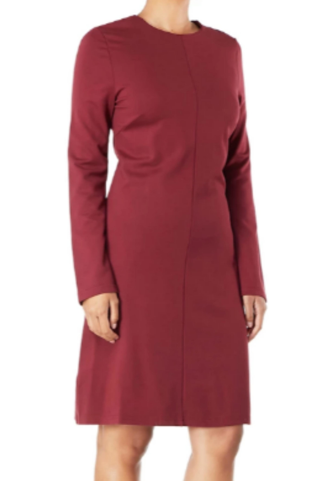 Aryeh Exposed Zipper Dress - Front Full Image