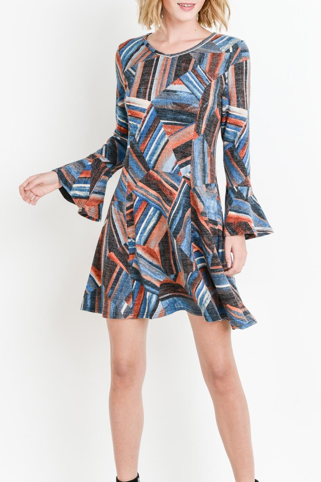 Aryeh Flair Sweater Dress - Main Image