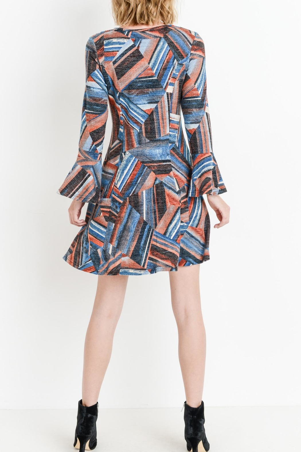 Aryeh Flair Sweater Dress - Side Cropped Image