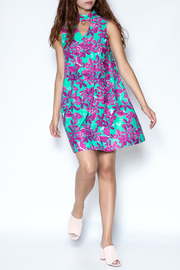 Aryeh Floral Choker Dress - Other