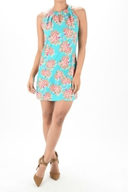 Aryeh Floral Halter Dress - Product Mini Image
