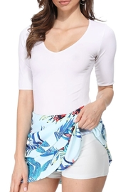 Aryeh Floral Tiered Skort - Product Mini Image