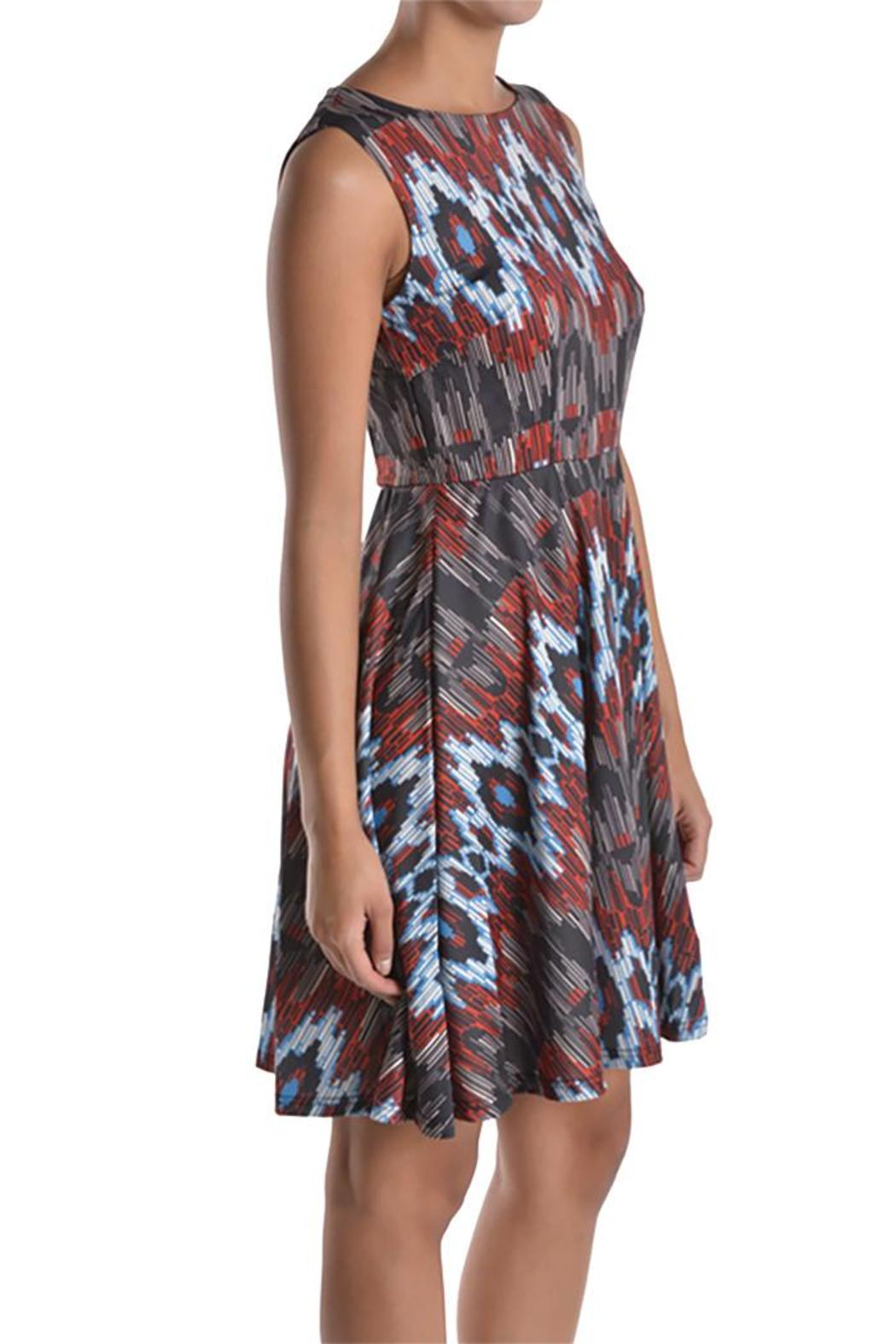 Aryeh ikat print dress from michigan by sparrow boutique for Ikat fabric dress