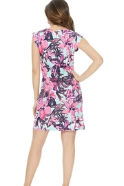 Aryeh Mint Floral Dress - Side cropped