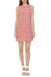 Aryeh Motif Shift Dress - Product Mini Image
