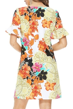 Aryeh Multicolored Floral Dress - Alternate List Image