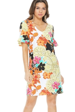 Aryeh Multicolored Floral Dress - Product List Image