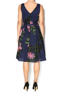 Aryeh Navy And Pink Floral Dress - Alternate List Image