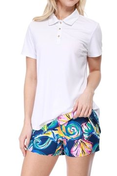 Aryeh Navy And Pink Seashell Skort - Product List Image