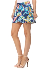 Aryeh Navy Tiered Skort - Product Mini Image