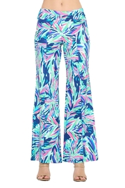 Aryeh Navy Wide Leg Pant - Product Mini Image