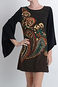 Aryeh Paisley Sweater Dress - Product List Image