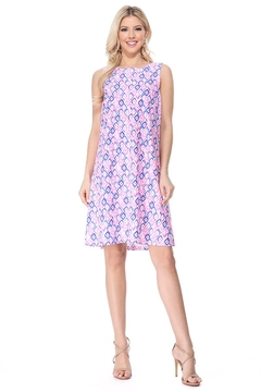 Aryeh Pink Back Crisscross Dress - Product List Image