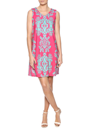Aryeh Pretty In Pink Dress - Front full body