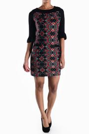 Aryeh Printed Knit Dress - Product Mini Image